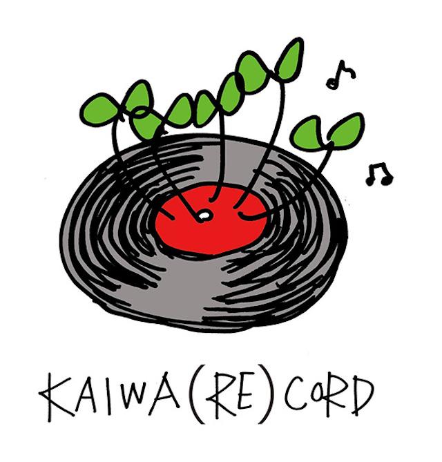 KAIWA(RE)CORD レーベルロゴ