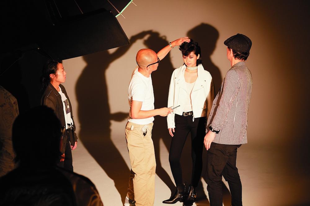 武田玲奈 写真家レスリー・キーによる撮影シーン