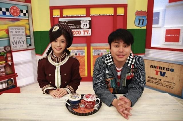 美山加恋、井上裕介(NON STYLE) とMCを務める新アニメ情報番組「あにレコTV」