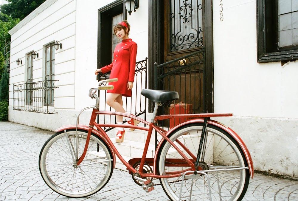 後藤真希・真っ赤なフレンチロリータスタイル・すっきりレッドスムージー