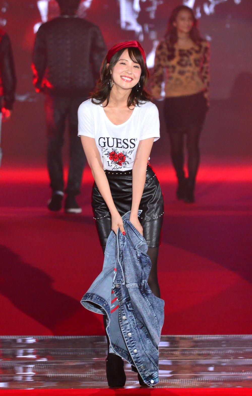 衛藤美彩(乃木坂46)GUESSステージ GirlsAward