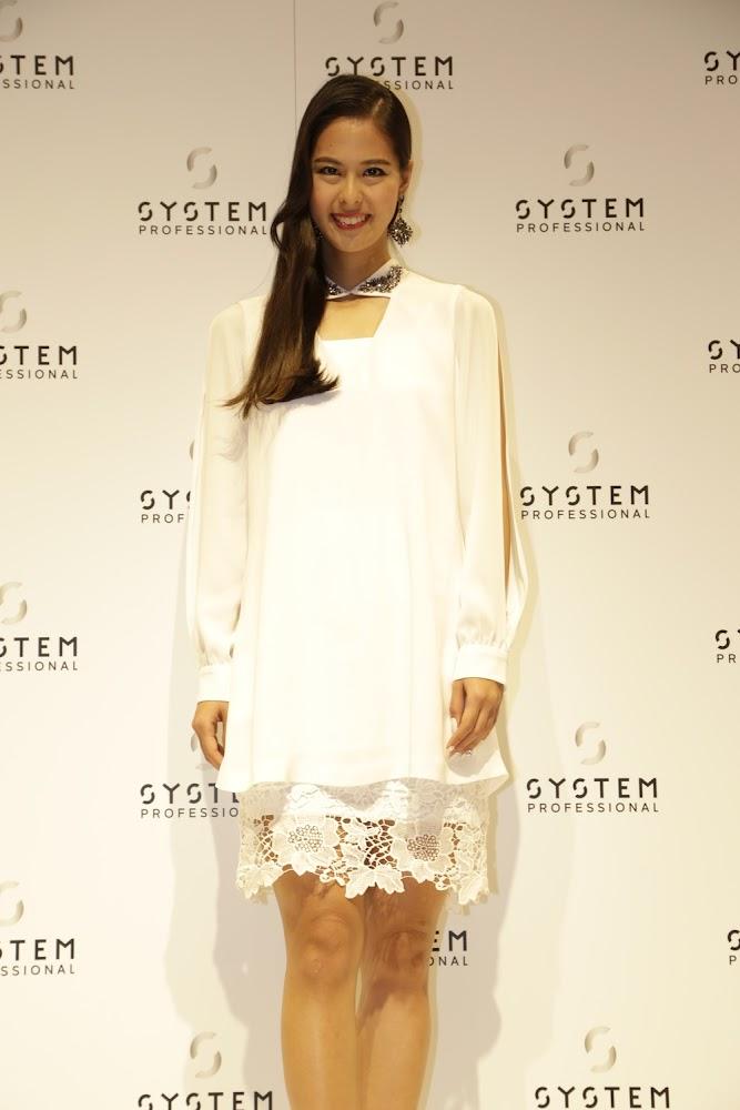 阿部桃子(ミス・ユニバース日本代表)WELLA SYSTEM PROFESSIONAL プレスカンファレンス