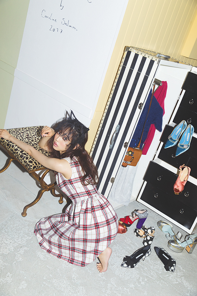 中村里砂、「tocco closet」 秋冬カタログに!~LIKE A DOLL RISA NAKAMURA ~