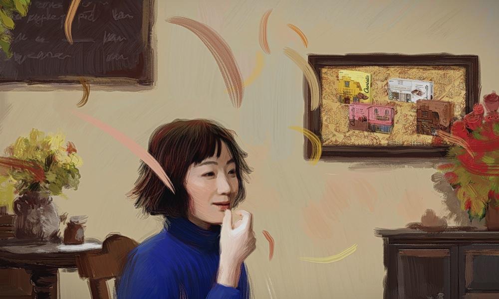"""黒木華、""""アニメーション描写によるCM""""に初出演!シャルロッテ新CM"""