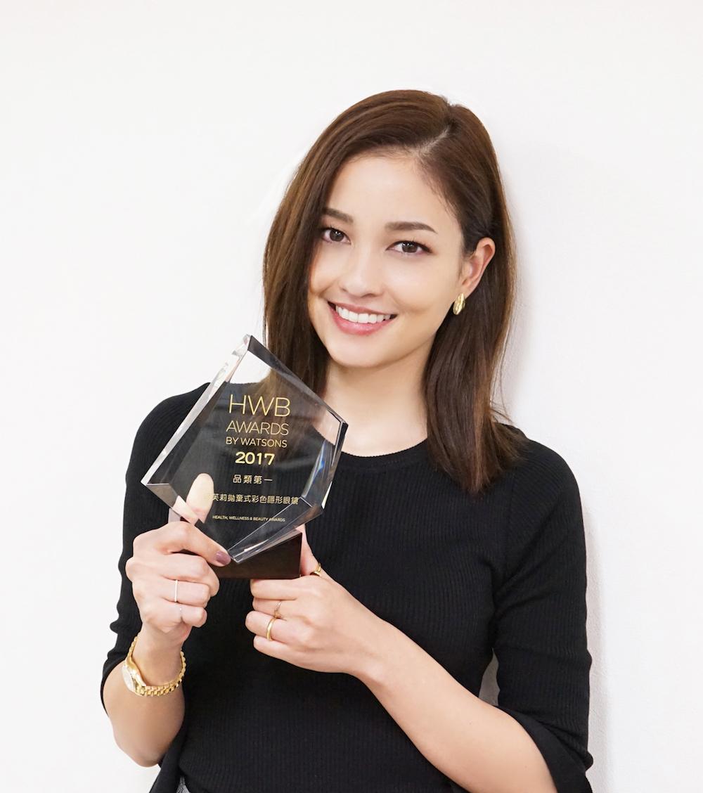 黒木メイサも愛用のカラコン「GIVRE TOKYO」が台湾・WATSONS HWB AWARDS