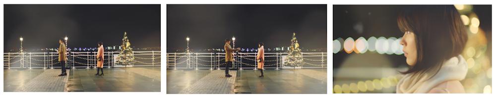有村架純・wicca・ショートドラマ『クリスマスラブ』