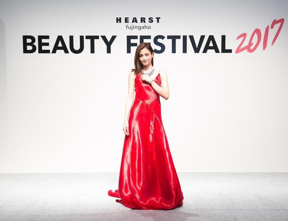 黒木メイサ ビューティー フェスティバル2017
