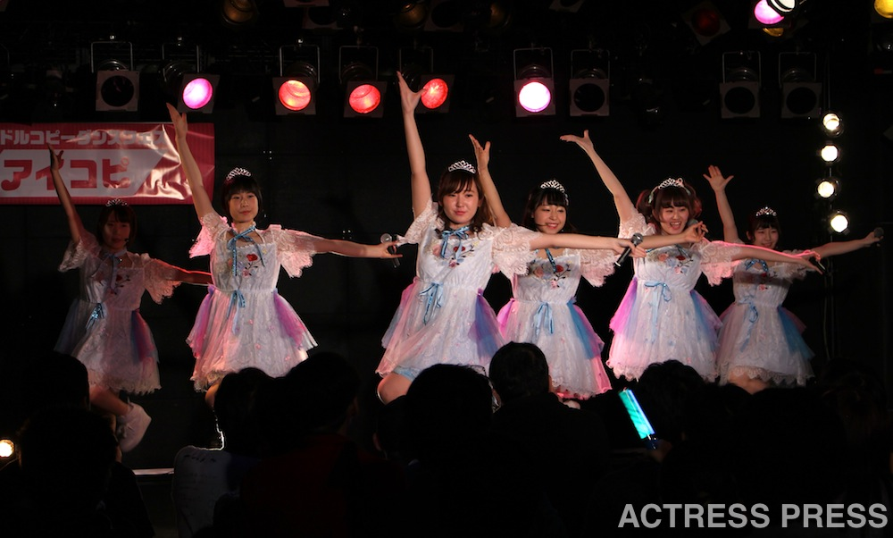 milk princess アイドルダンス