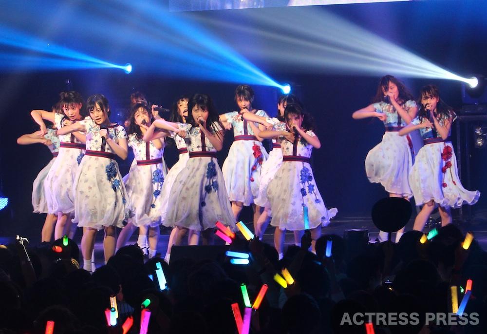 乃木坂46・3期生、「AGESTOCK2017」で10曲を熱唱