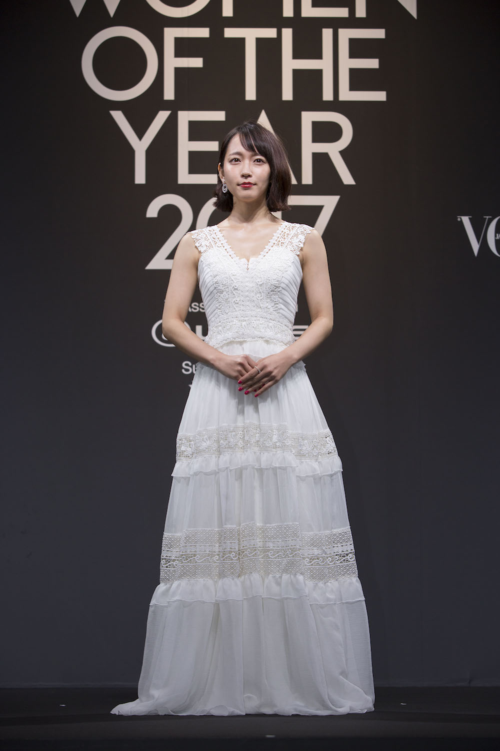 吉岡里帆、「VOGUE JAPAN WOMEN OF THE YEAR」受賞