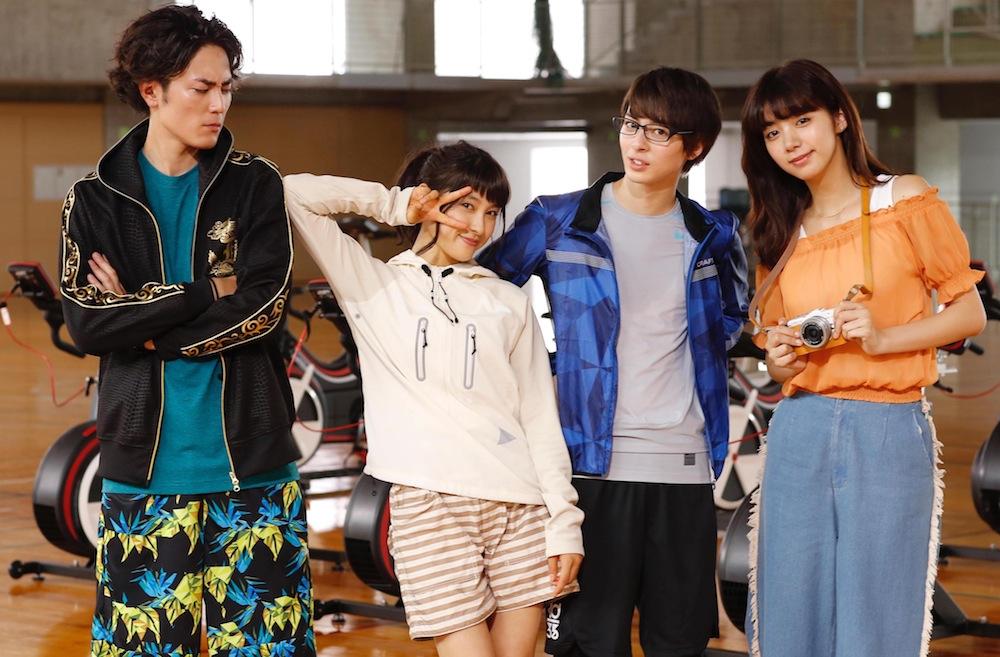 映画『トリガール!』土屋太鳳×間宮祥太朗×高杉真宙 池田エライザ