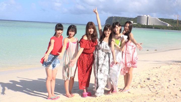 荻野由佳、朝長美桜、入山杏奈、山本彩、太田夢莉、古畑奈和