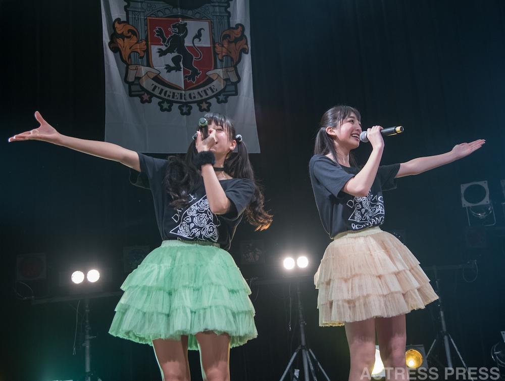 マジカル・パンチライン、2ndワンマンライブ(リーナ(小山リーナ)&ヒマワリ(清水ひまわり))