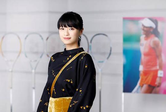 榮倉奈々、「WOWOWテニススペシャル 伊達公子~偉大なる挑戦の軌跡~」ナビゲーター