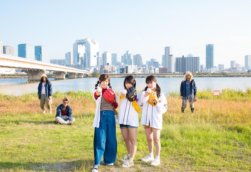 NMB48主演!大阪チャンネル初のオリジナルドラマ『魔!淀川キャッチボール部』