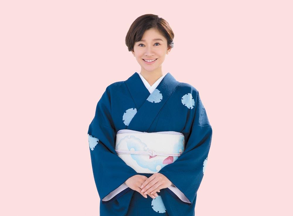 篠原涼子・日本和装・美しいきもの着付け教室 イメージモデル