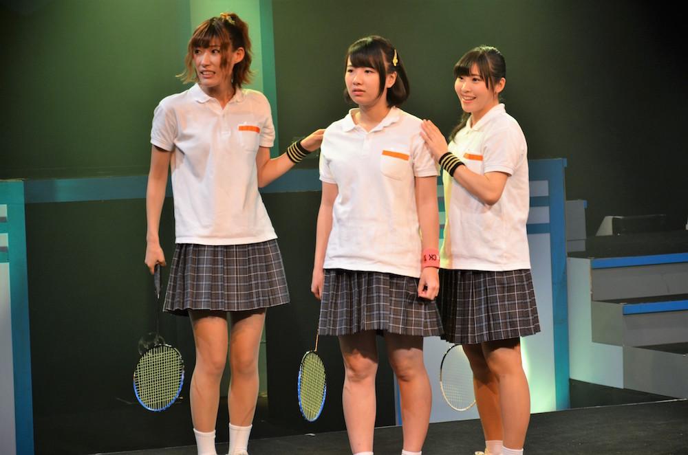 横田 萌、高本 翔菜 KRD8