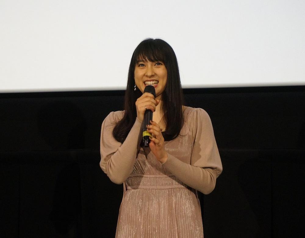 土屋太鳳、映画『8年越しの花嫁 奇跡の実話』岡山県先行公開・舞台挨拶