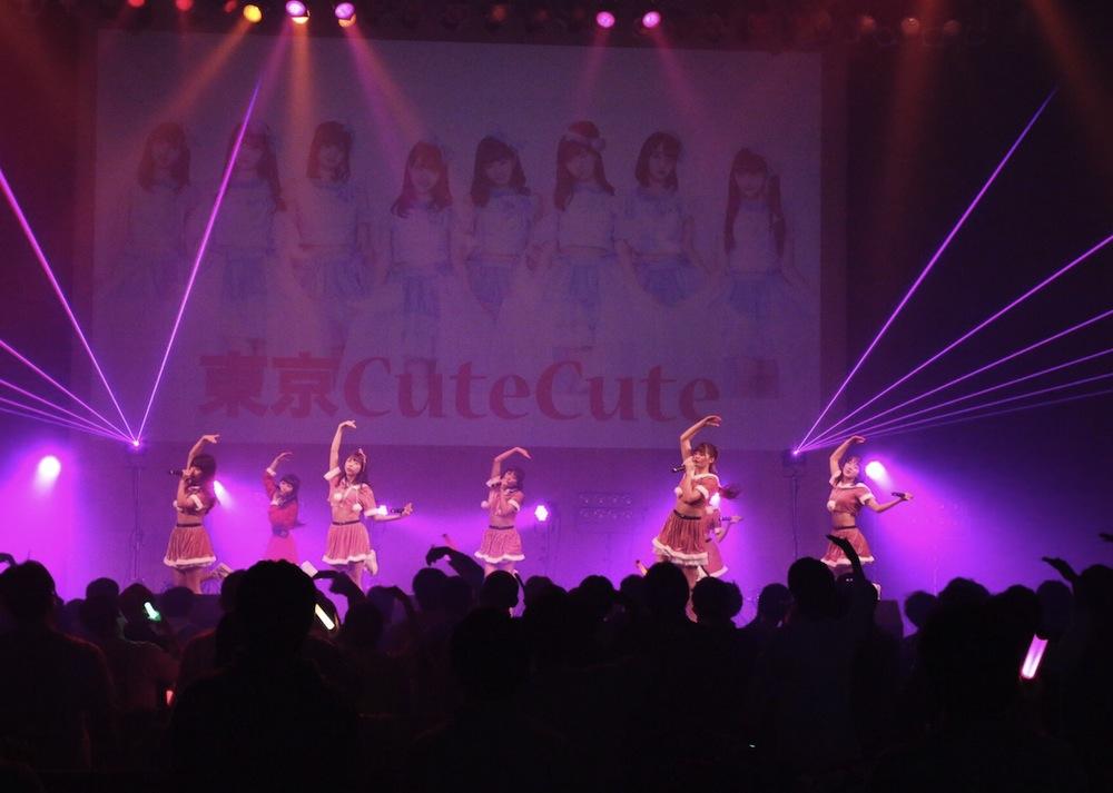 東京CuteCute アイドル クリスマスライブ