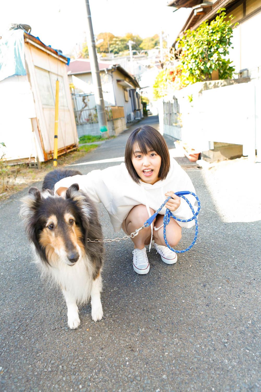 竹内愛紗カレンダー2018.04-2019.03 ACTRESS & DOG(犬)