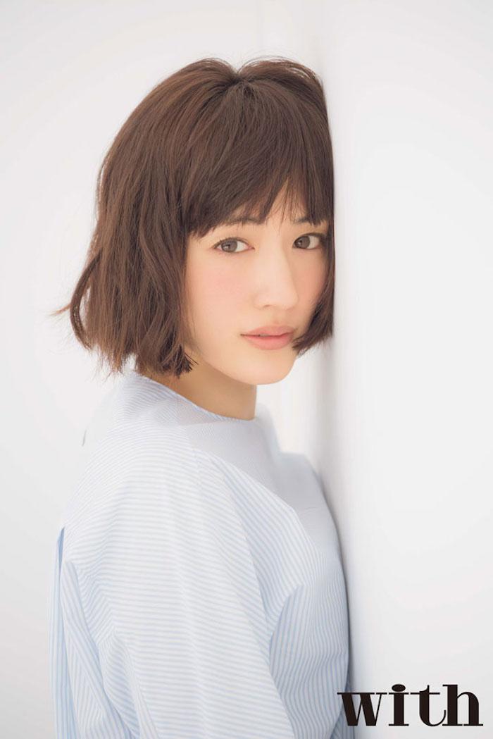 女優・綾瀬はるか ボブヘア