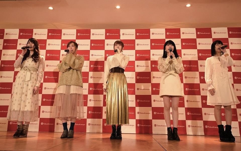Little Glee Monster、3rdアルバム「juice」より新曲『Gift』が高島屋アムール・デュ・ショコラ2018キャンペーンソング