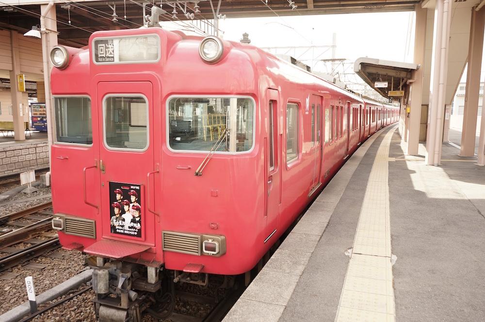 松井玲奈、名古屋鉄道の系統板に登場