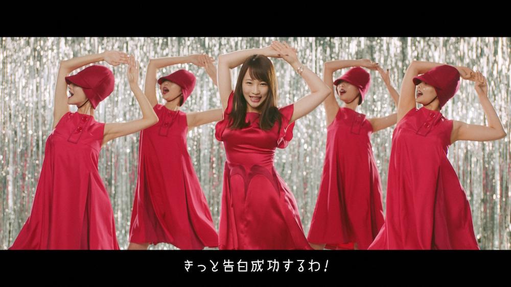 川栄李奈、華麗に歌とダンス!脱毛専門サロン銀座カラー新CM