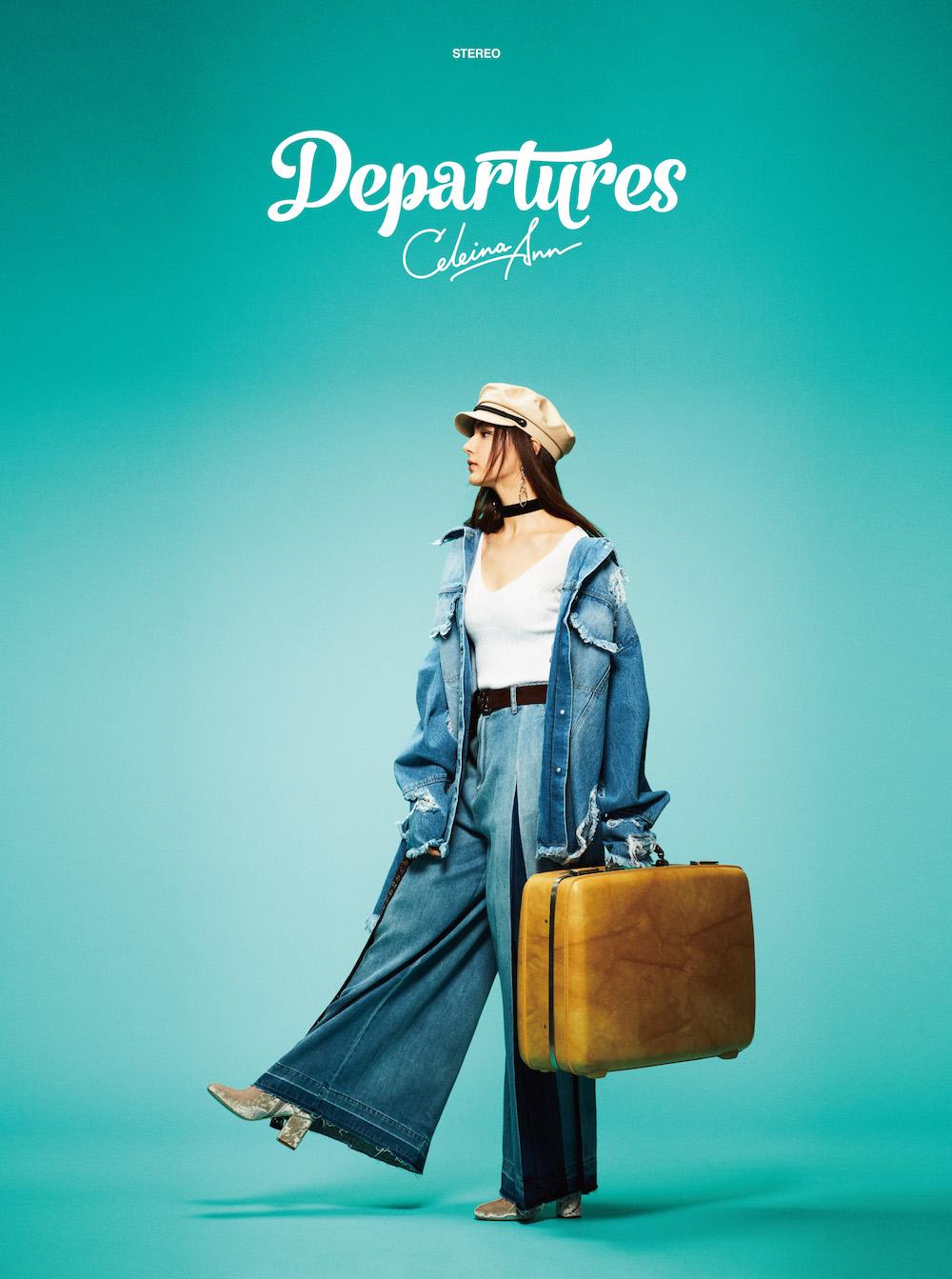 セレイナ・アン、ファーストフルアルバム『Departures』のジャケット写真