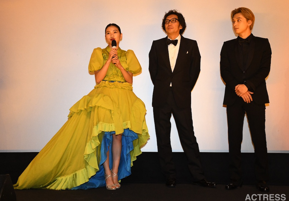 吉沢亮、二階堂ふみ、行定勲 @ベルリン国際映画祭
