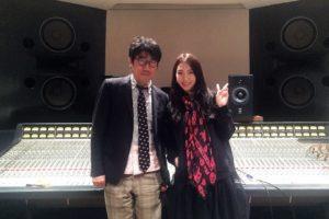 JY(=知英)とプロデューサー・亀田誠治