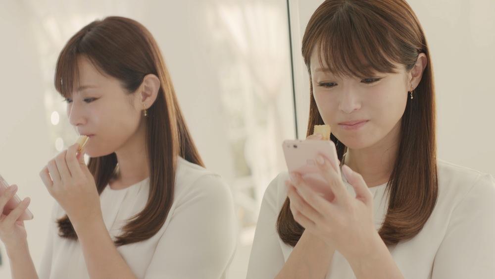深田恭子出演の「ビスコ」 TV-CM