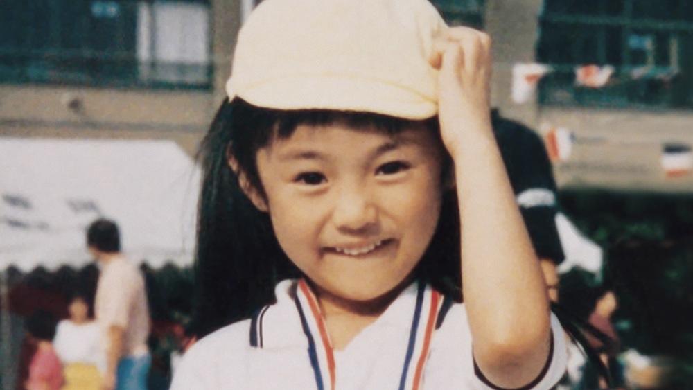 深田恭子の幼少期の写真 @「ビスコ」 TV-CM