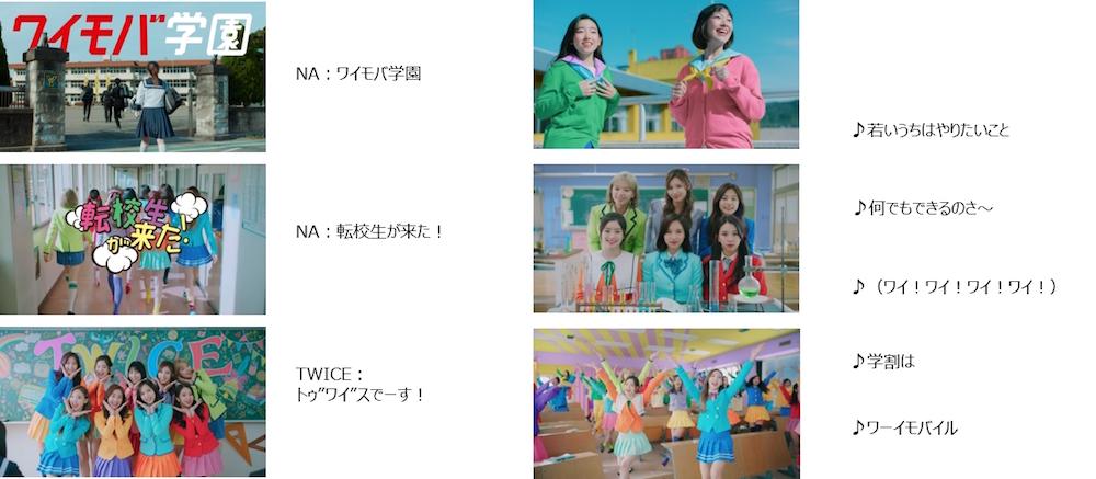 """""""ワイモバイル"""" 新テレビCM(30秒)「転校生」篇 ストーリーボード"""