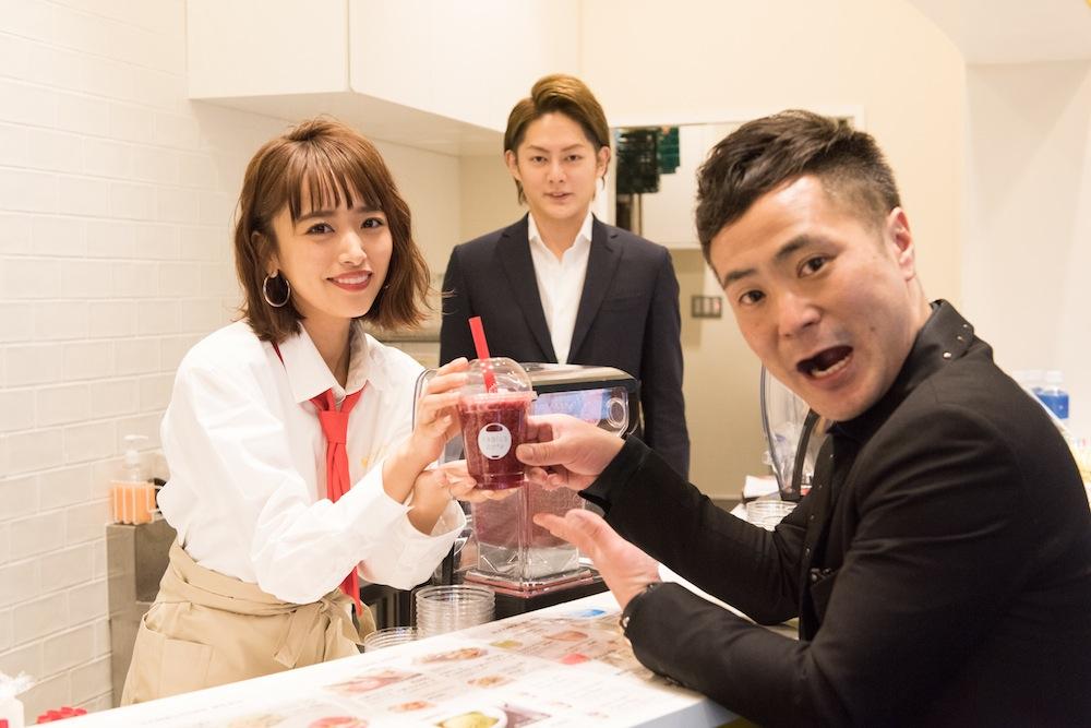 近藤千尋、原宿にオープンする『FABIUS Café』1日店長