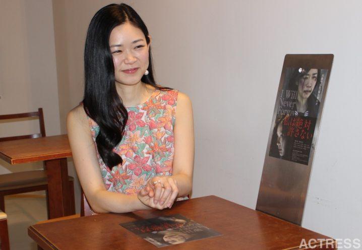 西川可奈子・インタビュー:主演映画『私は絶対許さない』