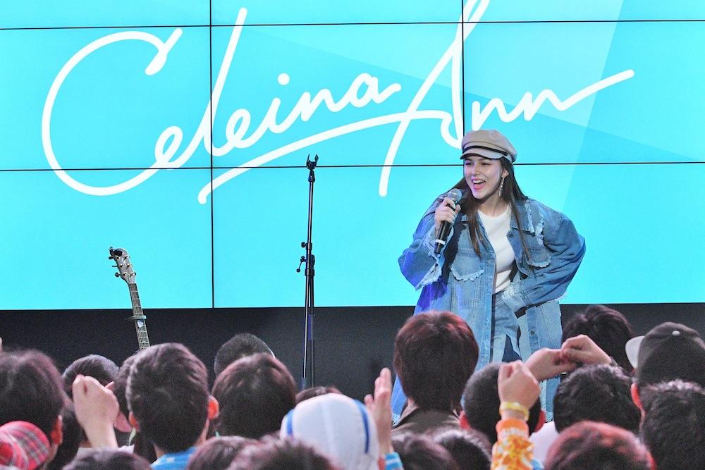 Celeina Ann『+music LIVE ~Spring Girls Festival』