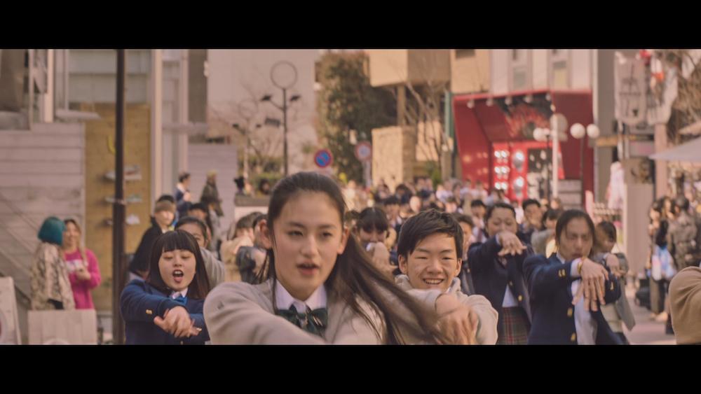 八木莉可子・ポカリスエットCM 原宿