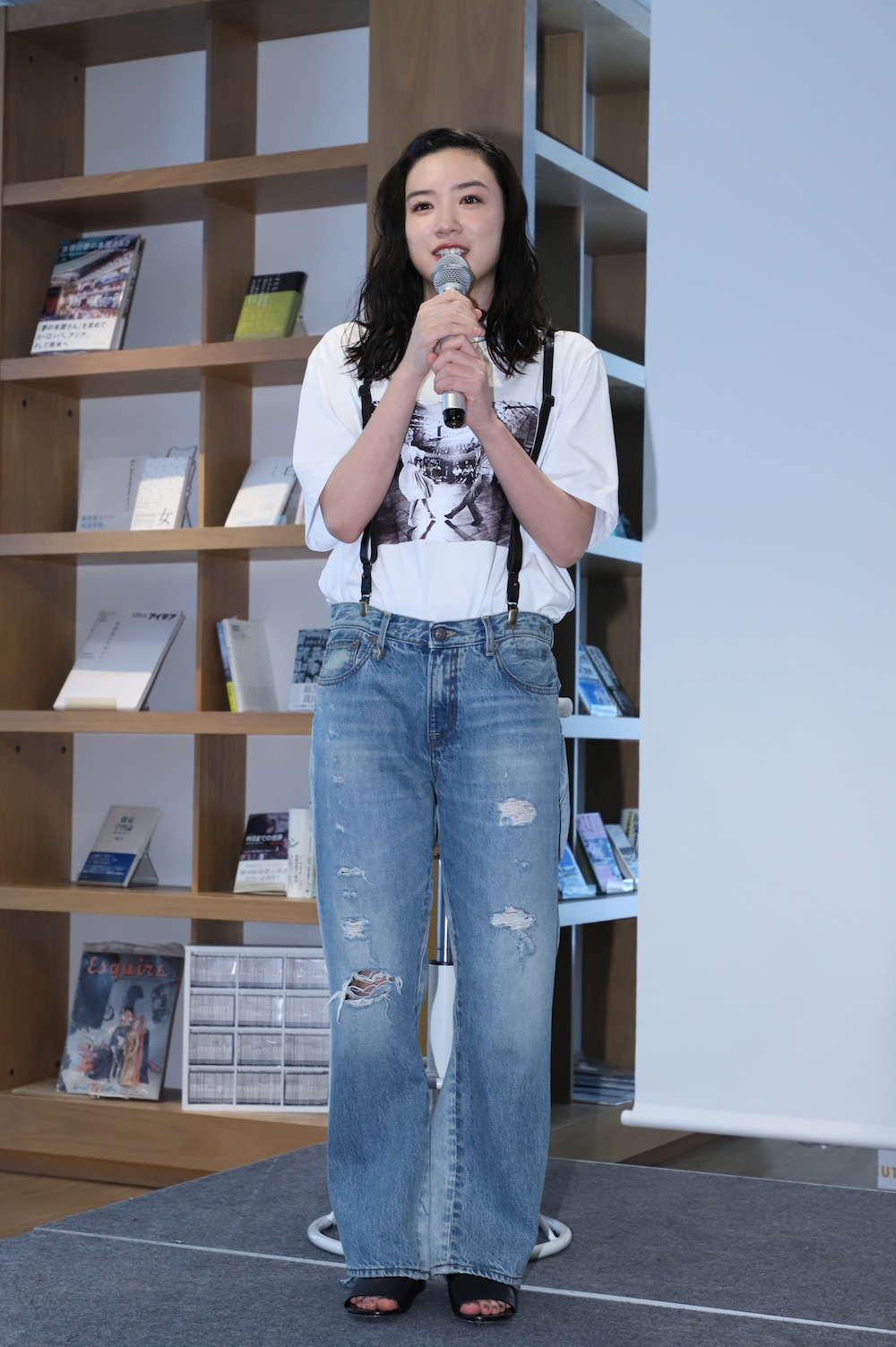 永野芽郁・トークショー 「半分、 青い。 」PHOTO BOOK発売記念イベント