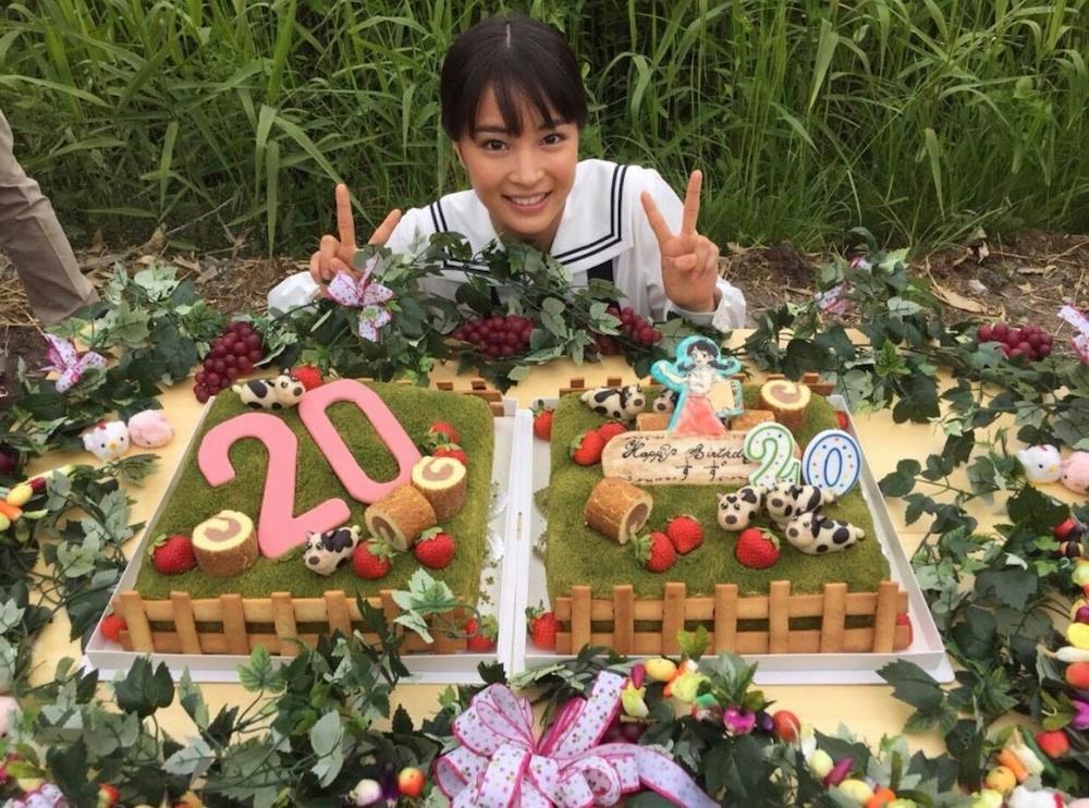 広瀬すず、20歳の誕生日