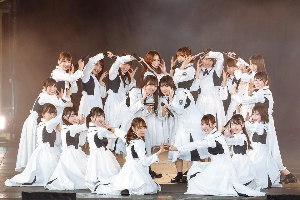欅坂46、富士急での野外ワンマンライブ「欅共和国 2018」ひらがなけやき
