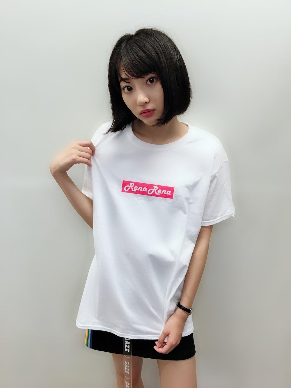 武田玲奈、自身初のバースデーイベント Tシャツ