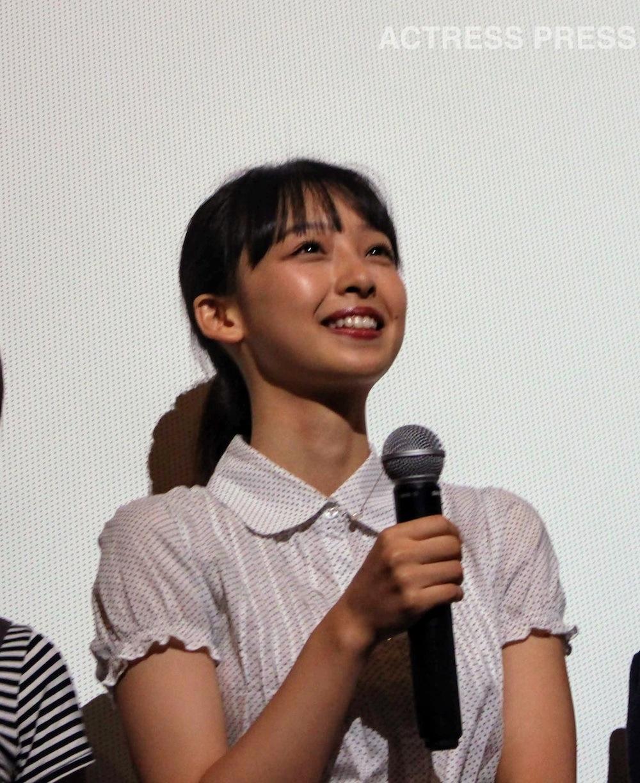 華村あすか @映画『初恋スケッチ 〜まいっちんぐマチコ先生〜』初日舞台挨拶