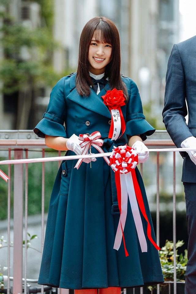 欅坂46 @渋谷ストリーム・オープニングセレモニー
