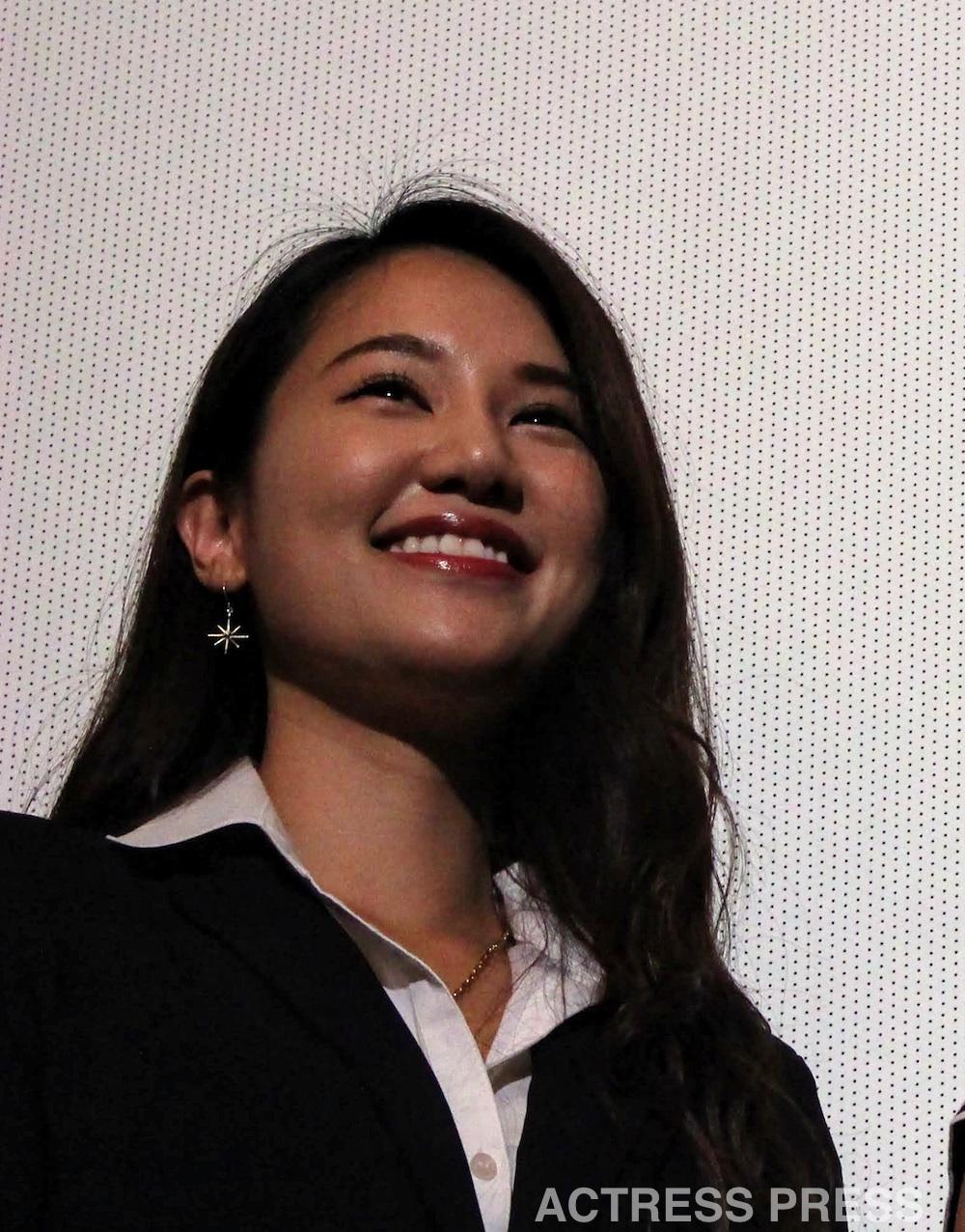 鈴木まりや@映画『初恋スケッチ 〜まいっちんぐマチコ先生〜』初日舞台挨拶
