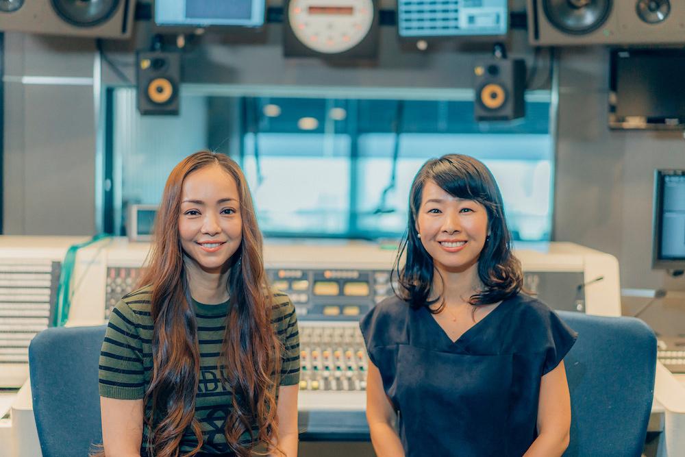 安室奈美恵 撮り下ろし写真@民放ラジオ101局特別番組「WE LOVE RADIO, WE LOVE AMURO NAMIE」