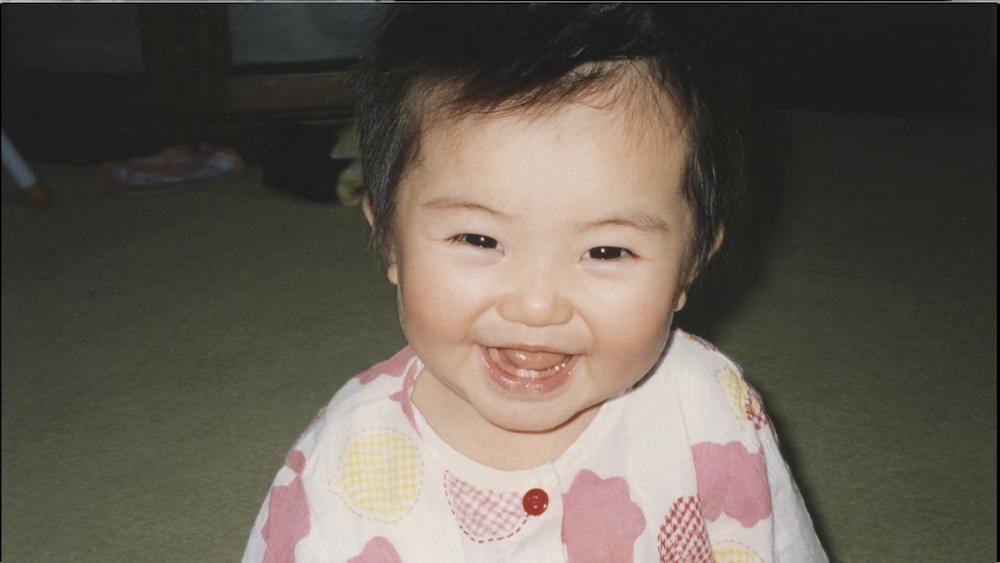 浜辺美波の少女時代写真 @JA共済 CM
