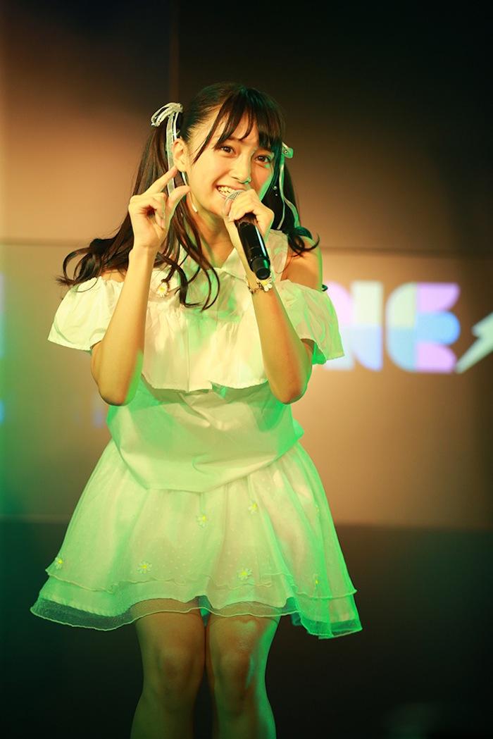 小山リーナ(マジカル・パンチライン)/2018年11月18日、AKIBAカルチャーズ劇場でのライブにて