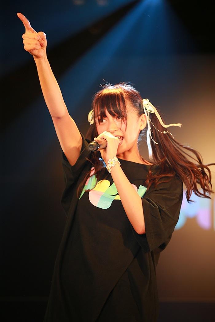 小山リーナ @マジカル・パンチライン/2018年11月18日、AKIBAカルチャーズ劇場でのライブにて