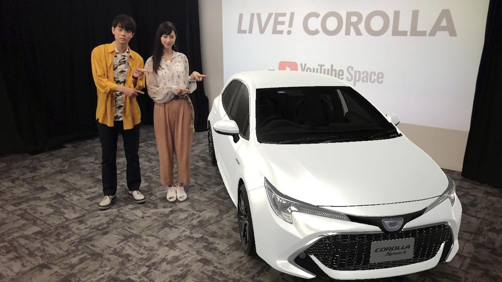 中条あやみ、菅田将暉と共にCOROLLA SPORTイベントに登場!